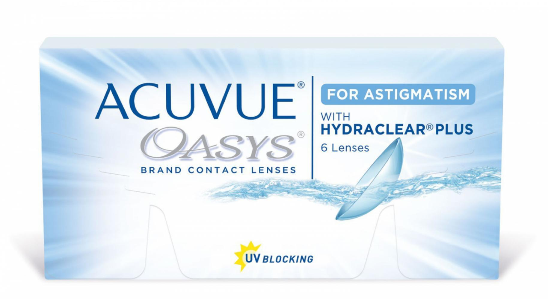 ACUVUE Oasys for Astigmatism with Hydraclear Plus 6 шт.
