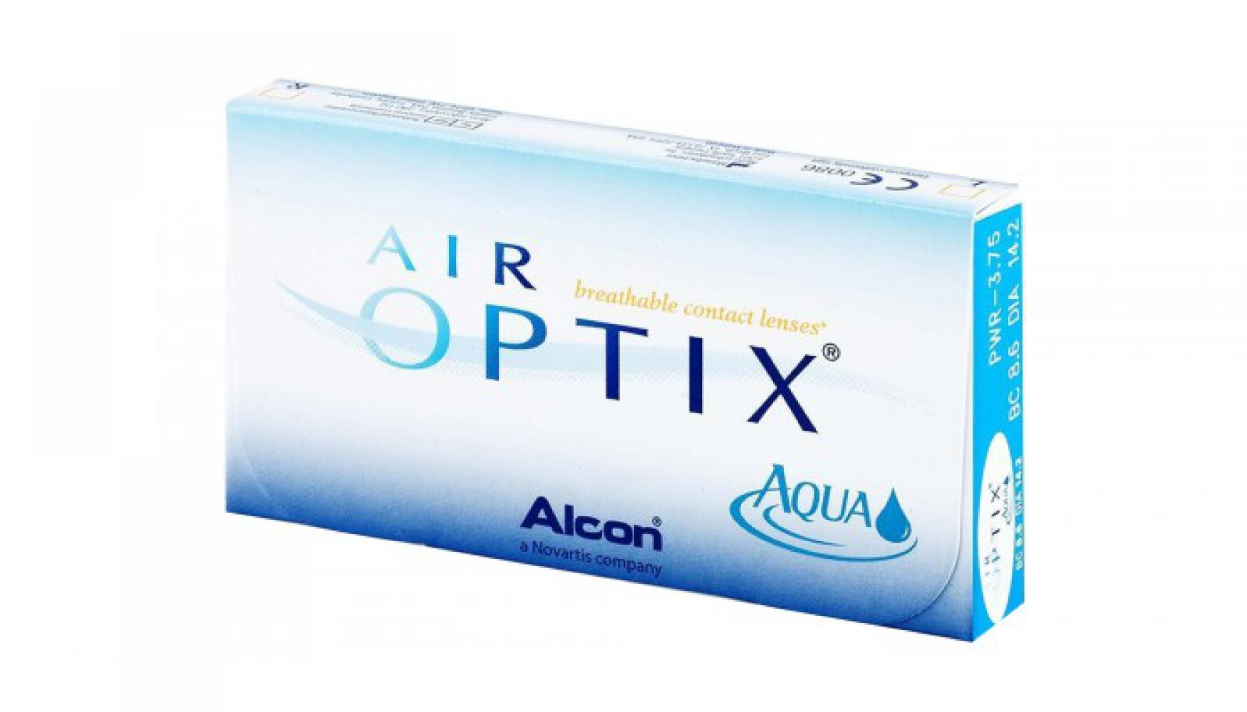 Air Optix Aqua 3 шт.